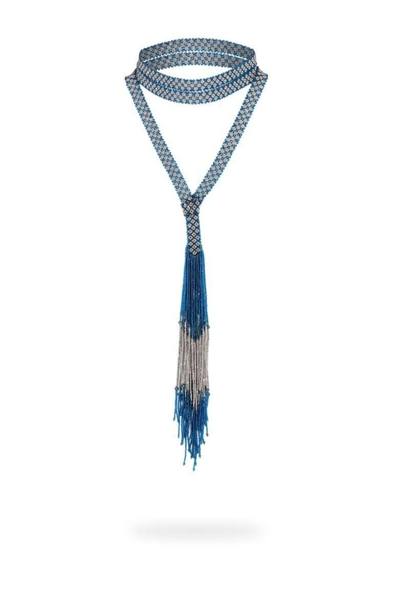 kuu joyeria cintilla platino cristal azul joya 020 previo