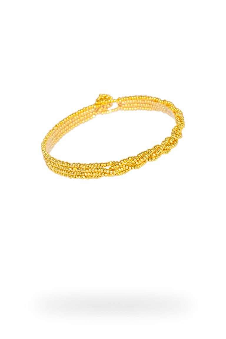 TLB002 brazalete lineal oro