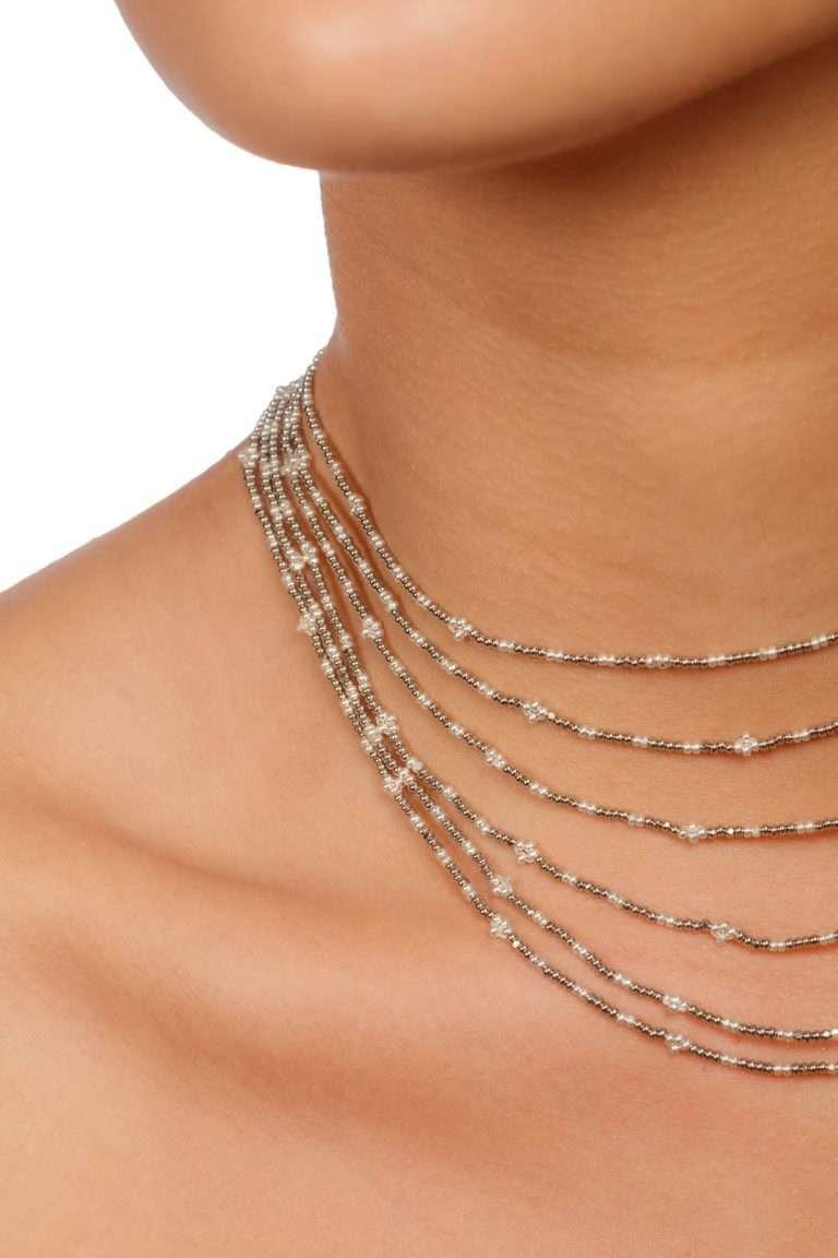 TLG002 gargantillas lineal plata platino alt2